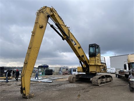 Caterpillar 345C Material Handler High Cab